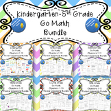 Kindergarten-Fifth Grade Go Math Chapter Review Homework BUNDLE