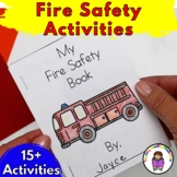 Fire Safety Worksheets for Kindergarten Centers