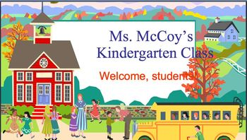 Kindergarten First Day Powerpoint