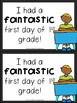 First Grade First Day of School Certificates