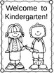 Kindergarten First Day of School Color Pages and Certificates