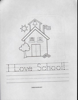 Kindergarten First Day of School Packet