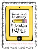 Kindergarten & First Grade Benchmark Literacy Writer's Wor