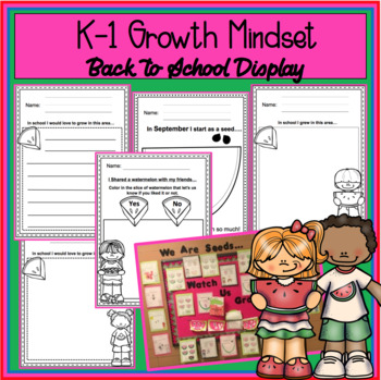 Kindergarten-First Grade Goal Setting…. Student Growth Display