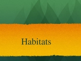 Kindergarten / First Grade Habitat Powerpoint