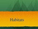 Kindergarten / First Grade Habitat Powerpoint