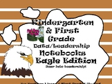 Kindergarten-First Grade Leadership Notebook and Data Binder: Soaring Eagle