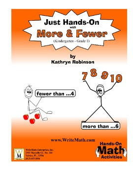 Teaching Math Terms: More & Fewer - Activities & Worksheets