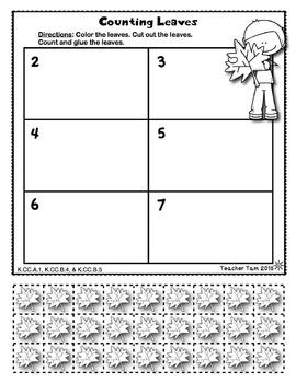 Place Value Worksheets for Kindergarten and First Grade Math