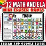 Kindergarten & First Grade Mini Eraser Games for SEESAW &