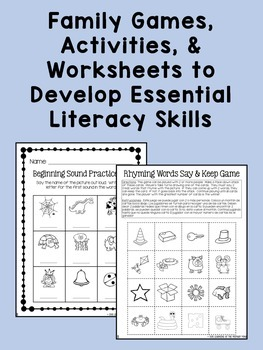 Kindergarten Reading Homework & Take-Home Books {Guided Rdg Lvl B}
