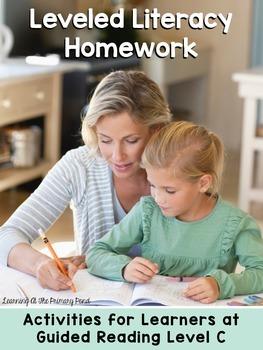 Kindergarten Reading Homework & Take-Home Books {Guided Rd