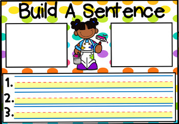Kindergarten - First Grade School Themed Sight Word Cards