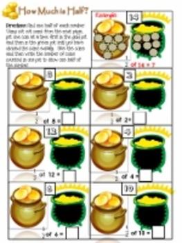 Kindergarten & First Grade St.Patrick's Day Math Activities