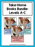 Take Home Books BUNDLE {for Guided Reading Levels A-C}
