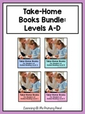 Take Home Books BUNDLE {for Guided Reading Levels A-D}