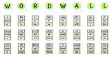 Kindergarten - First Grade Word Wall / Flash Cards Fry Words First 100 BOLD DOT