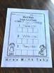 Kindergarten First Grade Word Work Freebie