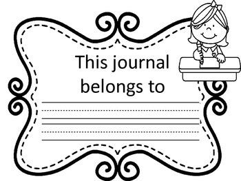 FREEBIE!!!!! Kindergarten / First Grade Writing Journal