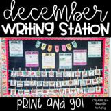 Kindergarten First Grade Writing Station December