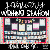 Kindergarten First Grade Writing Station January