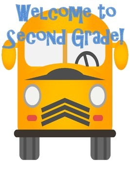 Kindergarten, First, Second and Third Grade Classroom Welcome Posters