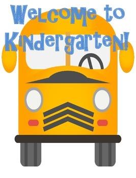 Kindergarten, First, Second and Third Grade Classroom Welc