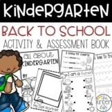 Kindergarten Beginning of the Year Assessment Book