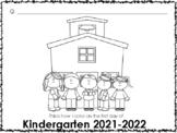 Kindergarten First Week of School - Name, Drawing, ABCs, Numbers