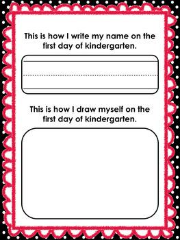 Kindergarten First and Last Day Activities