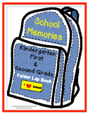 End of Year Memory Lapbook Kindergarten , First grade, Second grade