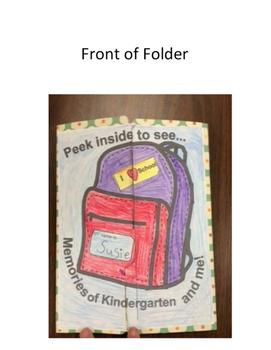 End of Year Memory Lapbook Kindergarten , First grade, Second grade