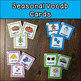 Kindergarten Five Senses Task Cards