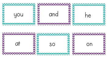 Kindergarten Flash Cards
