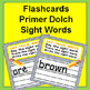 Sight Words, Letters, and Numbers Kindergarten Flashcards Bundle