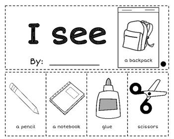 Kindergarten Flip Books