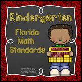 Kindergarten Florida Math Standards