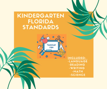 Kindergarten Florida Standards