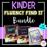 Kindergarten Fluency Find It BUNDLE