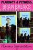 Kindergarten Fluency & Fitness Brain Breaks Bundle