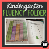 Kindergarten Fluency Folder for Weekly Fluency Practice