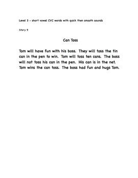 Kindergarten Fluency Pack - FRY