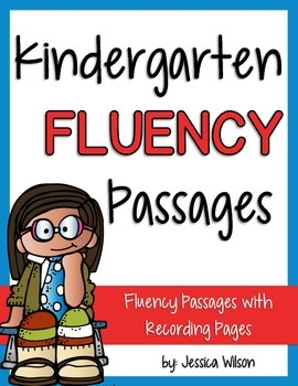 Kindergarten Fluency Passages