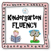 Kindergarten Fluency Passages BUNDLE