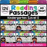 Kindergarten Phonics Reading Comprehension Passages and Qu