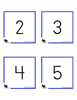 Kindergarten Fluency to 5 (100+ different cards)