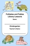 Kindergarten Folktales & Fables Genre Study (Activity Booklet & Lesson Plan)