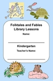 Kindergarten Folktales & Fables Genre Study (Activity Book