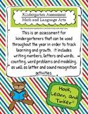 Kindergarten Formative Assessment