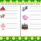 Kindergarten Fountas and Pinnell Smartboard Lesson
